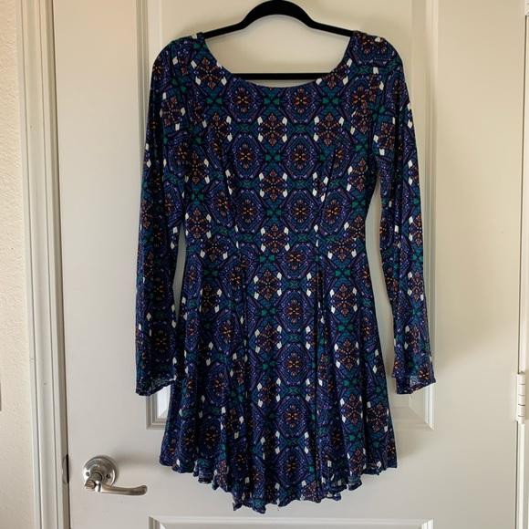 Francesca's Collections Dresses & Skirts - Francesca's Patterned Boho Dress